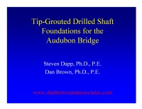 Tip Grouted Drilled Shafts for the Audubon Bridge - STGEC 2006_small.png