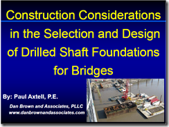 Axtell - Construction Considerations