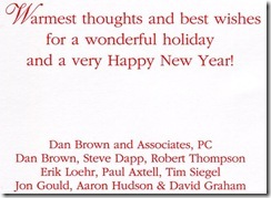 DBA Christmas Card 2010_back