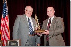 Dan receives DFI 2011 Distinguished Service Award