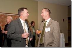 Paul and Erik at DFI 2011 Awards Banquet Reception