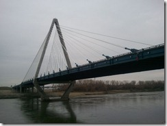 Bond Bridge - looking north from near south abutment
