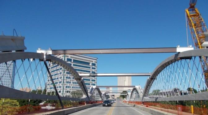 West 7th Street Bridge–Fort Worth, TX–Arches Update