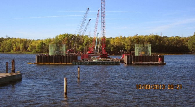 Drilled Shafts Complete at St Croix