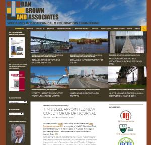 DBA website screenshot