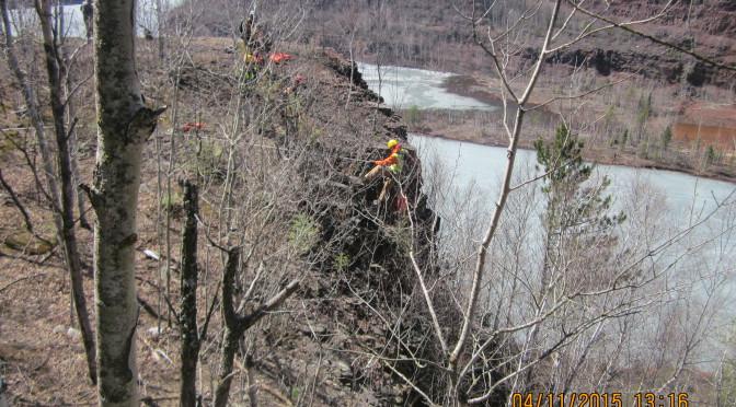 "DBA Engineers Perform ""Extreme"" Geologic Investigation"
