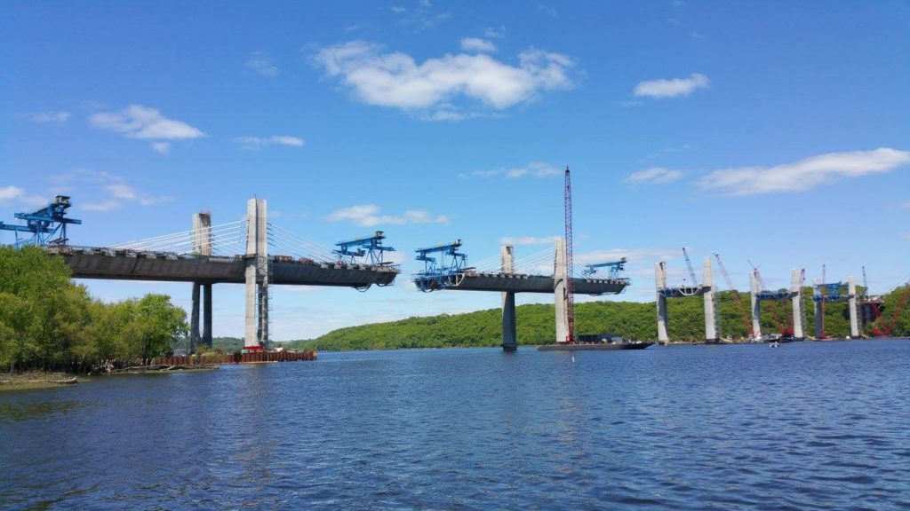 St Croix Crossing Superstructure Construction